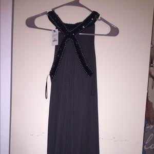 Gray express flowy dress
